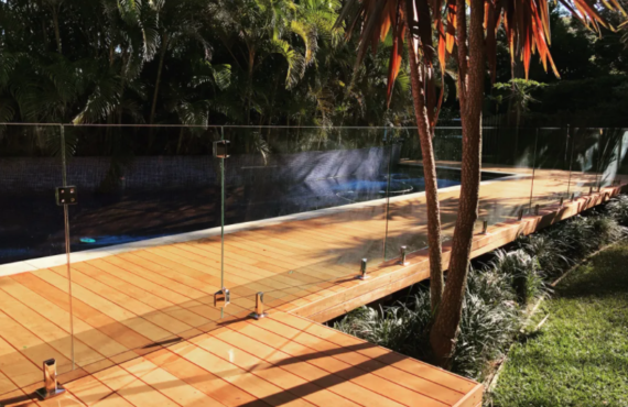Glass Balustrading / Frameless Pool Fencing